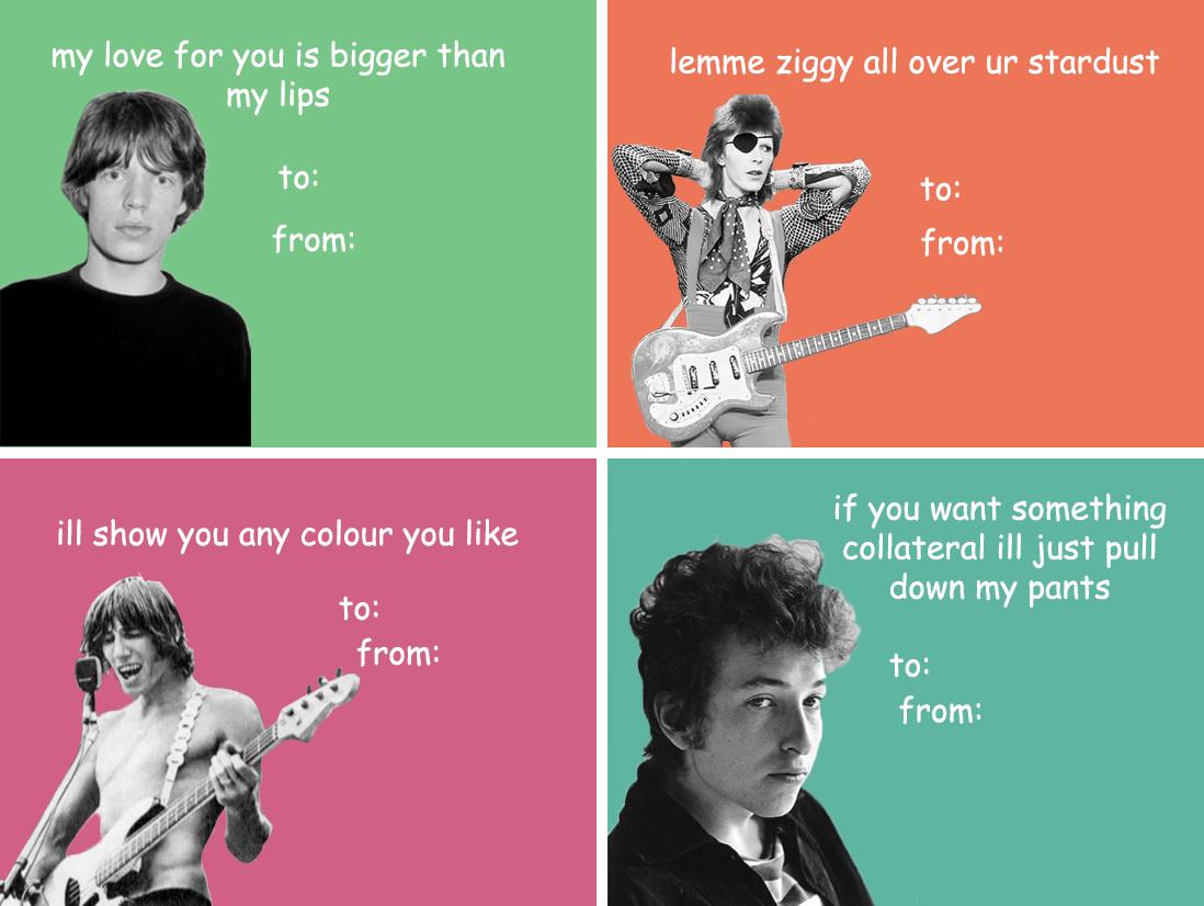 Image result for rock valentine cards