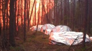 The U.S. Forest Service could begin using fire sheltersmade with NASA heat-shield technologyas early as this summer