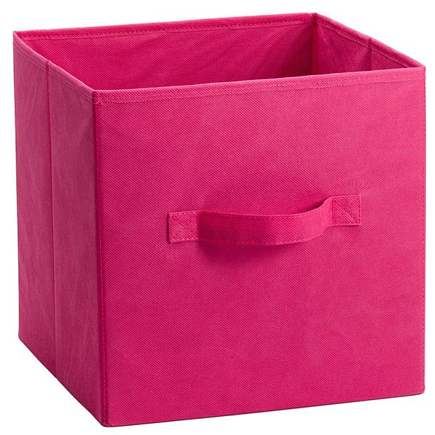 Folding Fabric Storage Cube   Pink To Use Inside The Cubes. $9.00 Target. I