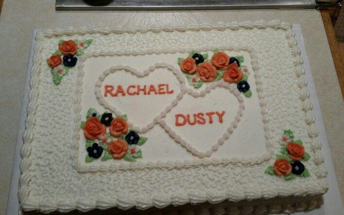 Couples Bridal Shower Half Sheet Cake Wedding Shower Cakes