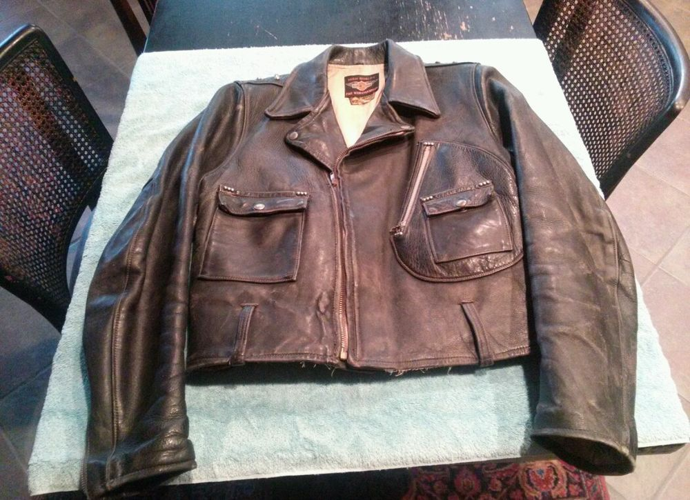 Vintage 1940 S Harley Davidson Horsehide Leather Cycle