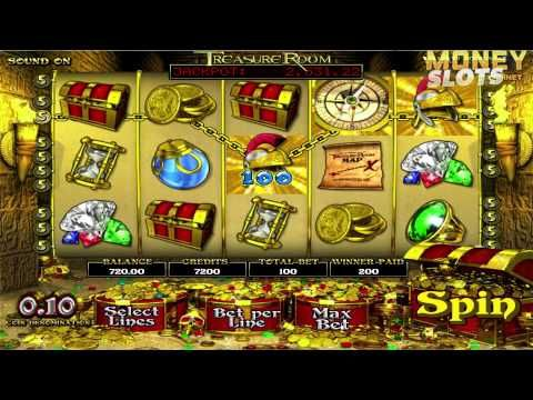 Here's a video review of Treasure Room slots from BetSoft.  Be sure to check out the full Treasure Room video slots review at http://www.moneyslots.net/betsoft/treasure-room-slots/  For more information on the best slots casinos, slots bonuses and slots game reviews, please visit:  MoneySlots.net http://www.moneyslots.net/ #1 Online Slots Guide