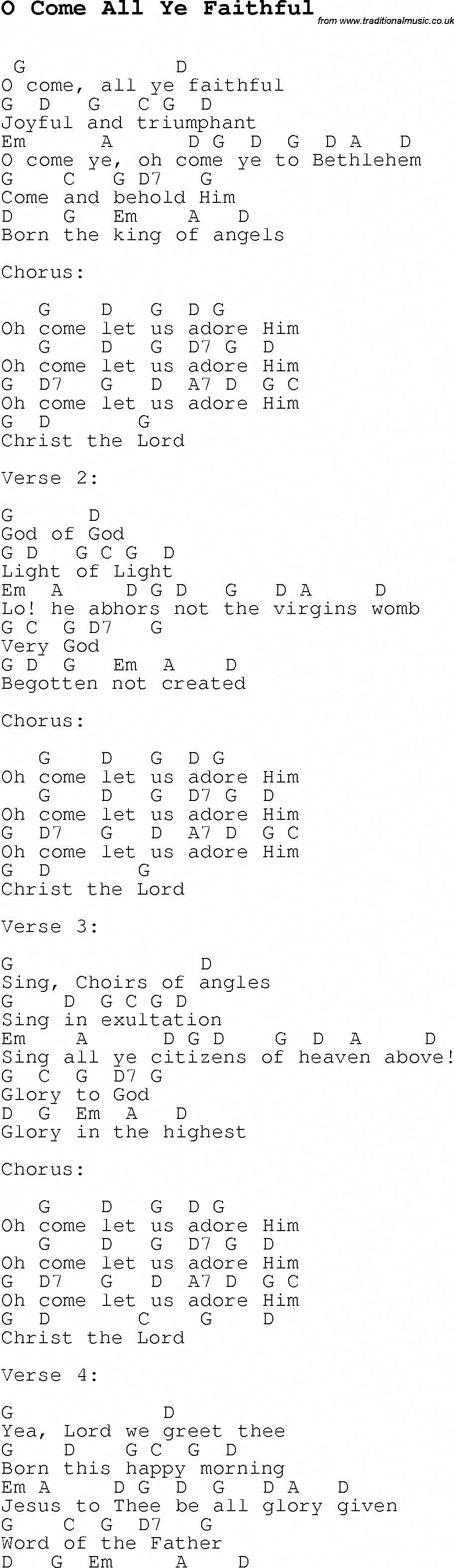 Christmas Carol O Christmas Tree (O Tannenbaum) Piano