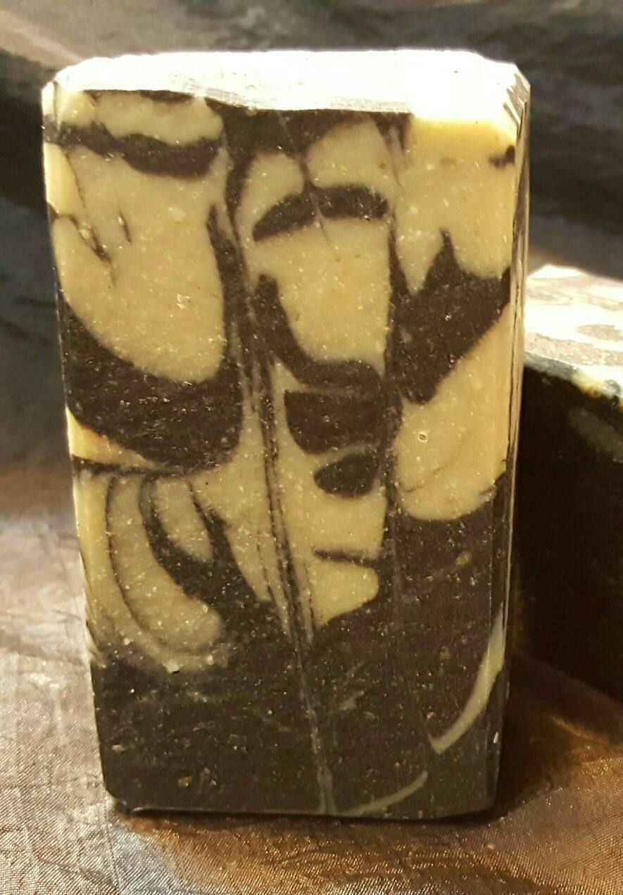 Facial Soap Bar French Green Clay Activated Charcoal