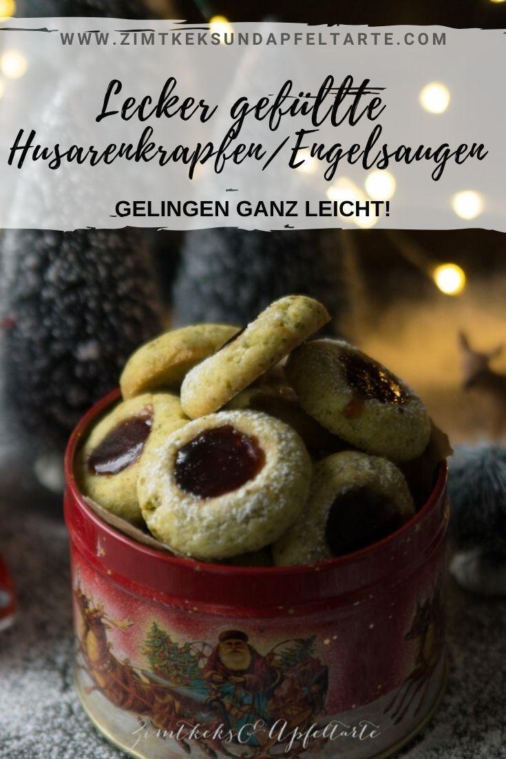 Husarenkrapfen, Engelsaugen oder Thumbprint-Cookies - einfach lecker #kekseweihnachtenkinder