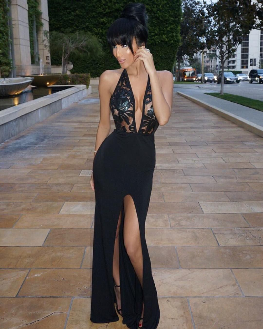 Wantmylook On Instagram Affordable Luxury Exclusively On Wantmylook Introducing Naya Dress As Seen On Th Black Gown Dress Dresses Backless Dress Formal