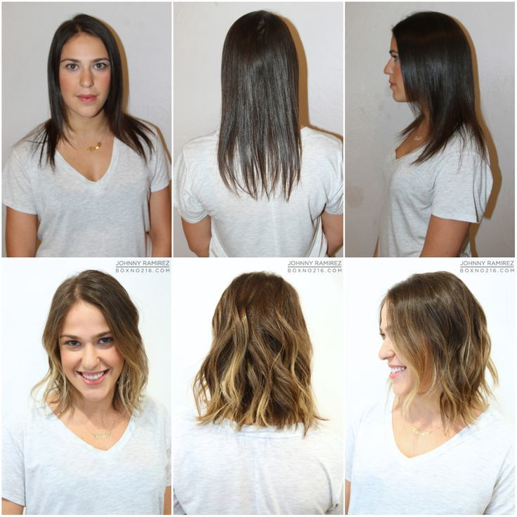 Image Result For Salon Cut And Color Fine Hair Before And After