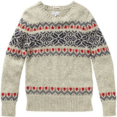 15 Fair Isle Sweaters to Buy Online Now | Snowflake designs