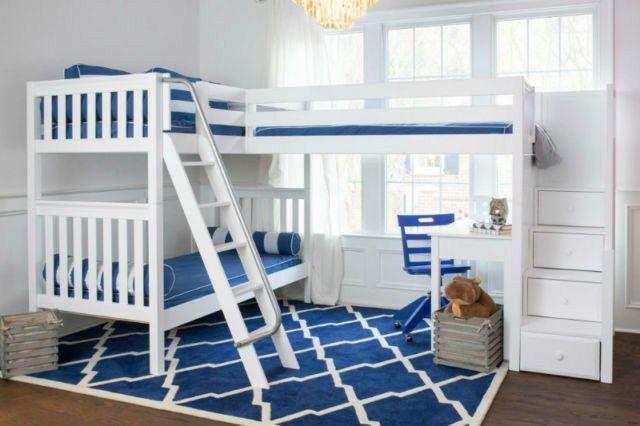 Kids Furniture Huge Sale Loft Beds Bunk Beds Beds Mattresses Chatham Kent Kijiji Corner Bunk Beds Kid Beds Bunk Bed With Desk