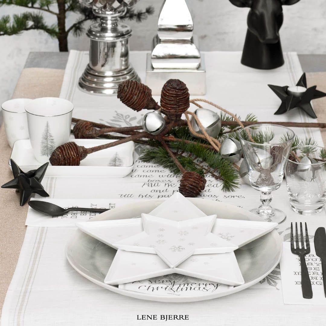 Christmas Table 2015 Lene Bjerre Christmas Tableware Christmas Table Decorations Decor