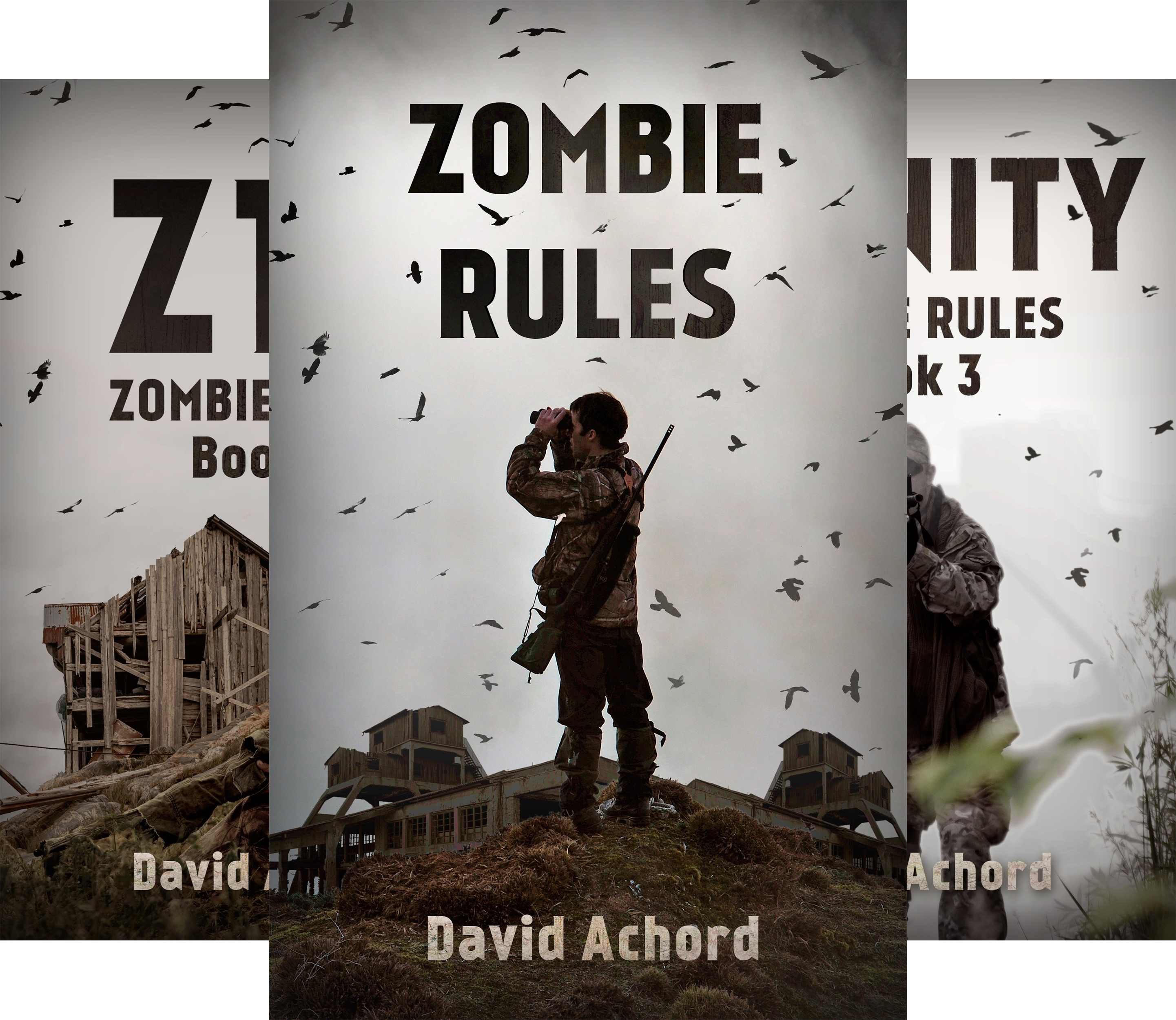 Zombie Rules (3 Book Series) @ niftywarehouse.com