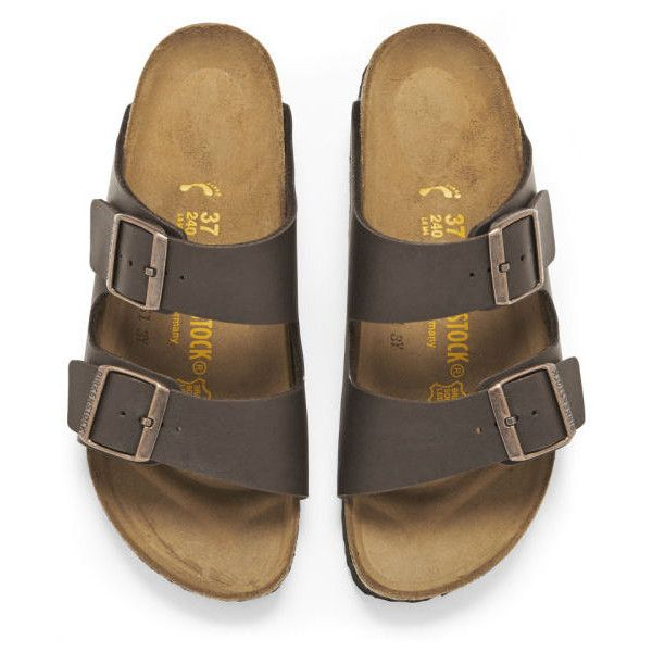 Double Strap Sandals - Brown