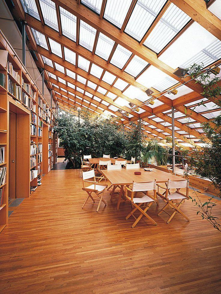 VIRTUTE Greenhouses in 2019 Renzo piano, Architecture