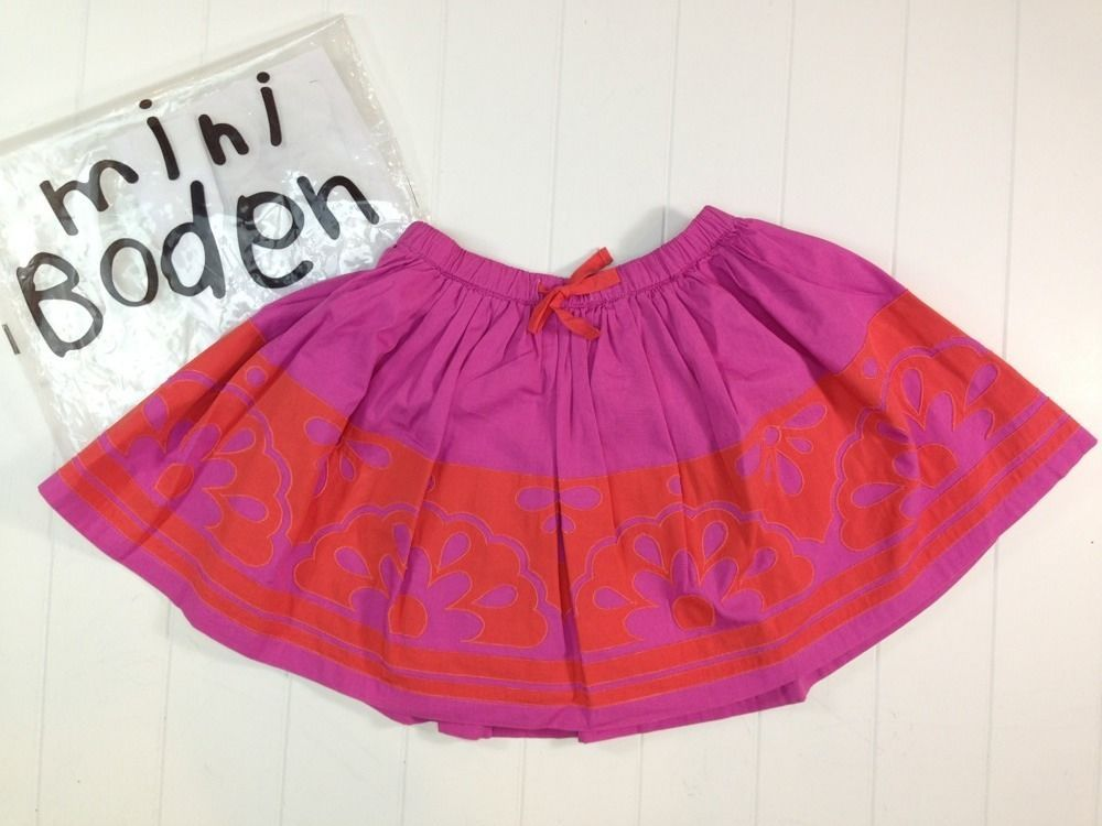 $39.99 Twirl. Run. Repeat.  NEW Mini Boden Embellished Skirt New in Package 2T 3T 4T 2 3 4 $54