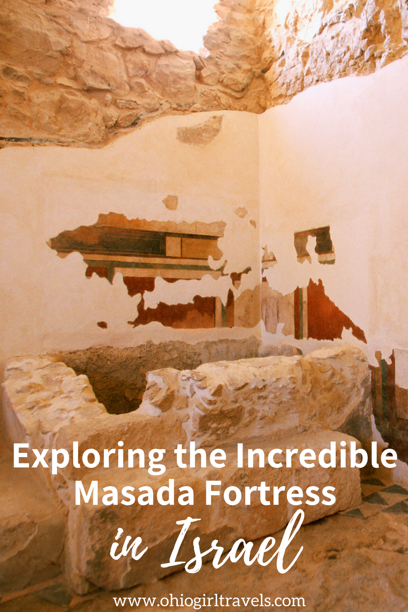 Exploring the Desert Fortress of Masada #middleeastdestinations