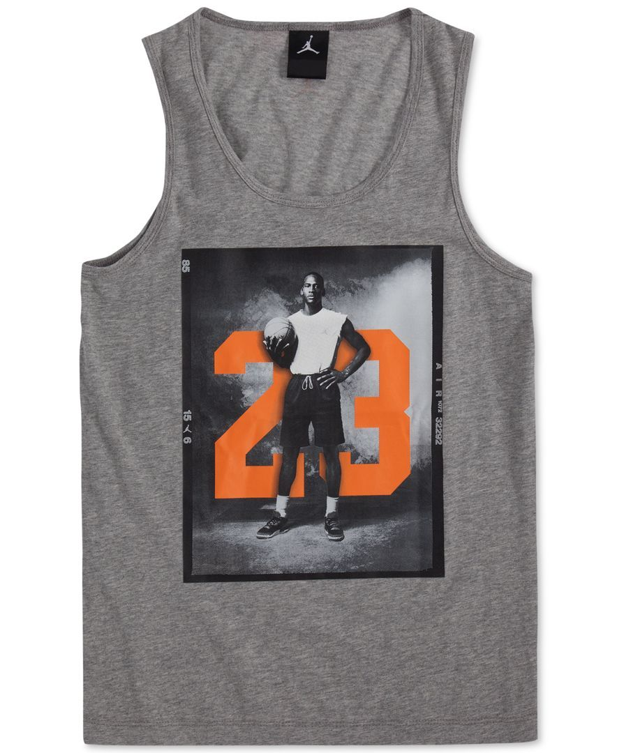 Jordan Boys' 23 Photographic Tank Top