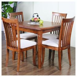 Buy GP Furniture Windsor House 5 Piece Lincoln Extending Dining Set