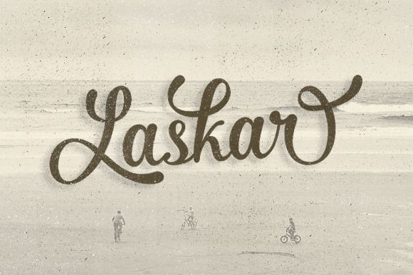 Laskar (30% off) by Graptail on Creative Market