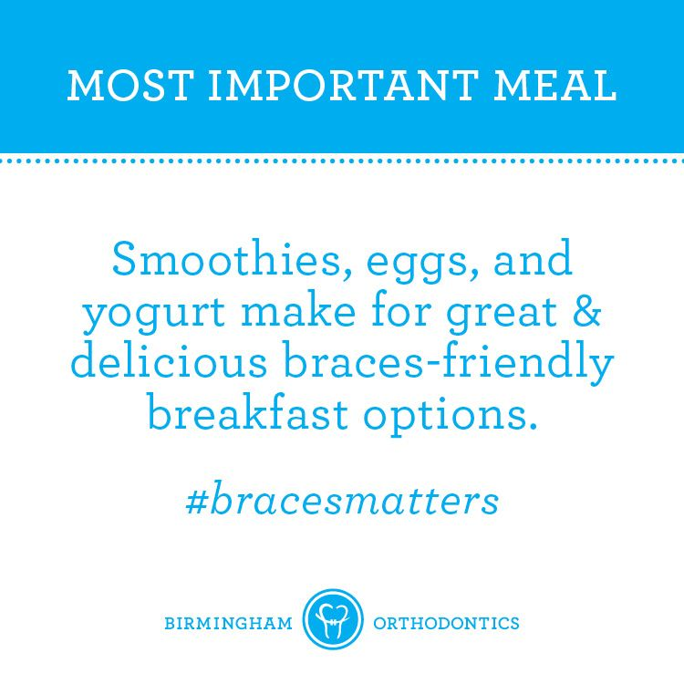 Breakfast is the most important meal of the day — just