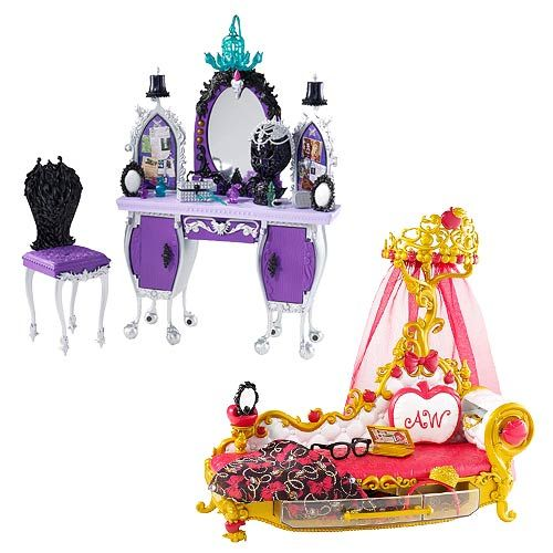Ever After High Getting Fairest Dolls Playset Case Ever