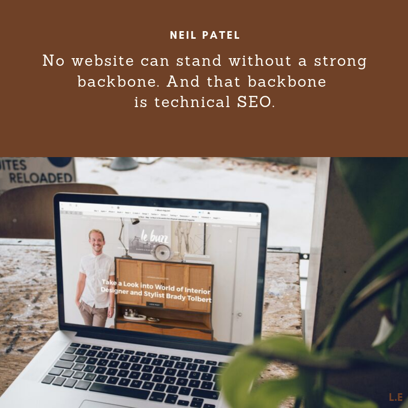 No website can do without a strong backbone. And the backbone is technical …