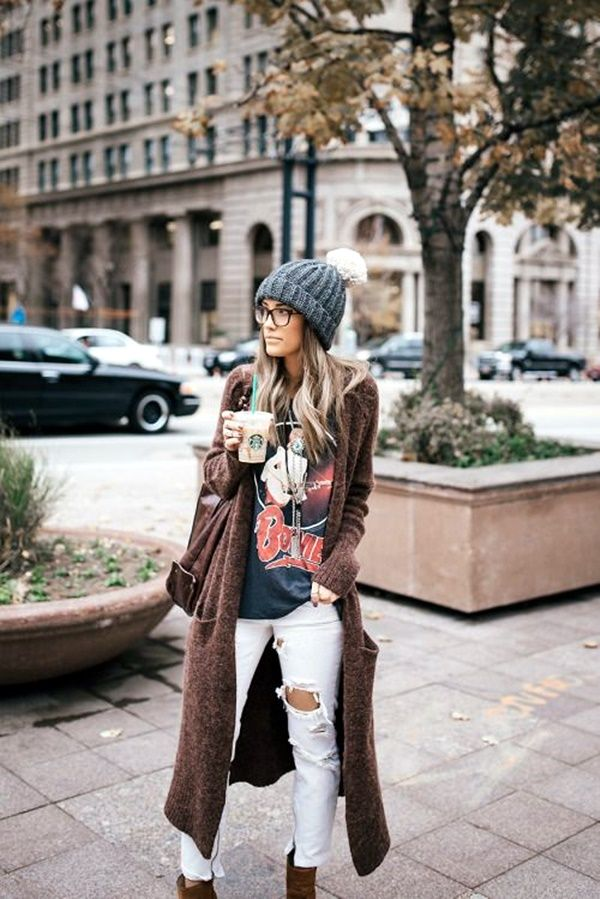 Boho Chic Outfits Winter