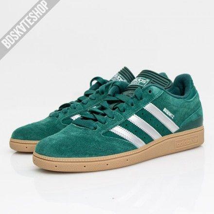 Zapatillas Adidas Skateboarding Busentiz Verde Gum Sepatu