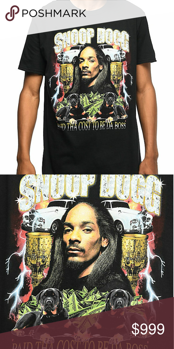 821e4149 ISO: Snoop Dogg Paid Tha Cost To Be Da Boss shirt • Ideally in L or ...