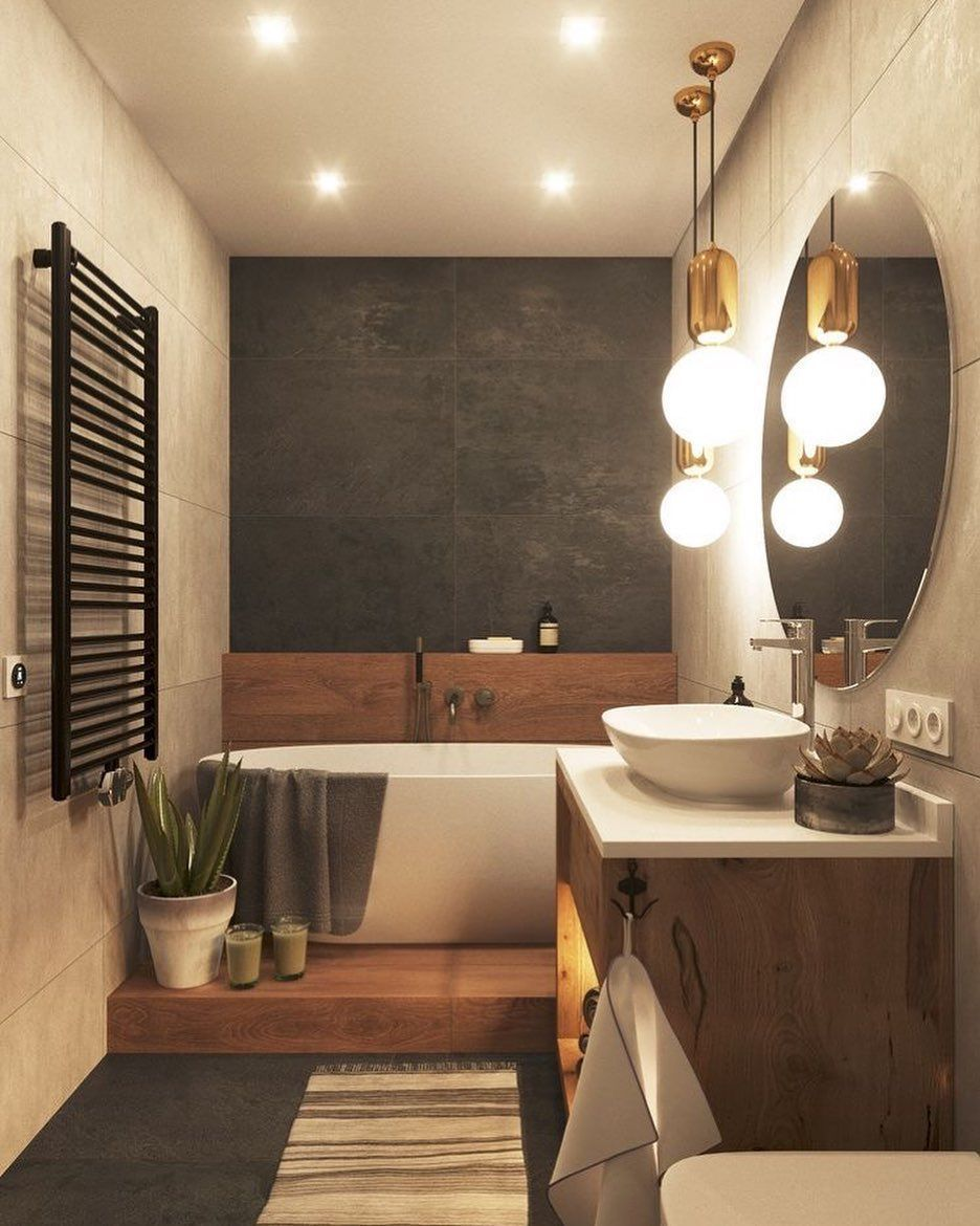 Bathroom Beddesignmoder Sparkle Tips Udealing 13 Tips To Make Your Bathroom Bathroom Beddesi Kleines Bad Dekorieren Kleine Badezimmer Badezimmer Klein