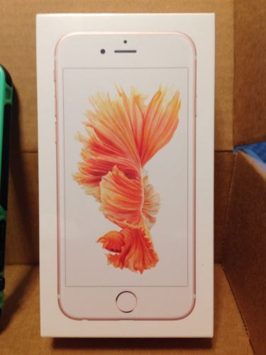 Apple Iphone 6s Rose Gold Factory Unlocked 32gb Brand New Sealed Package Ebay Apple Iphone 6s Apple Iphone 6s Plus Iphone