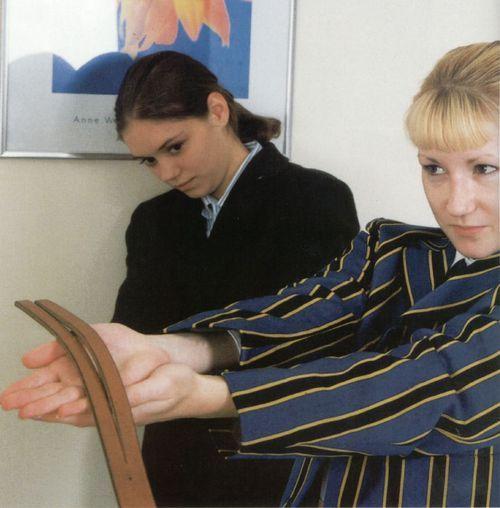 Naughty girls punishment