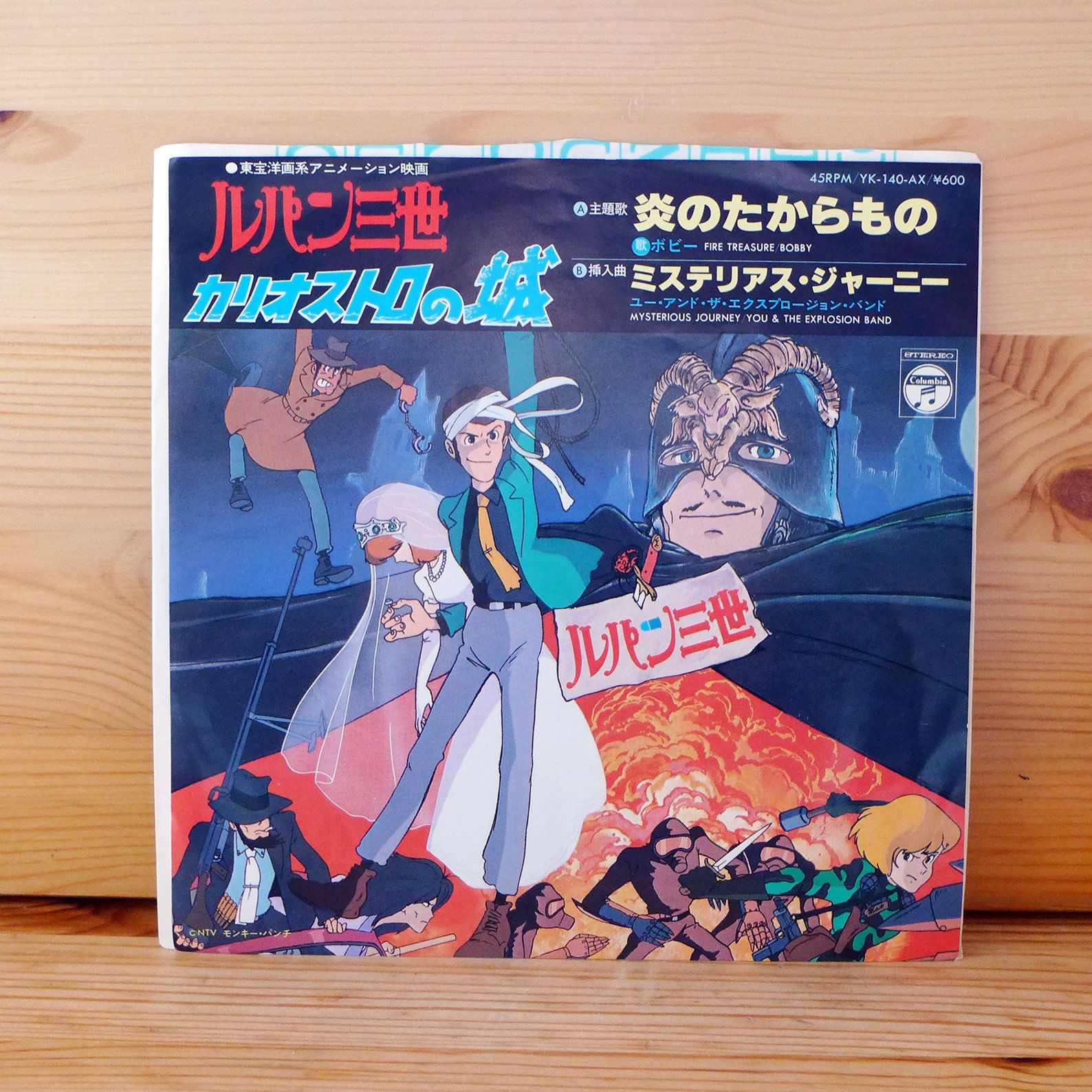 """Anime movie """"Lupin the 3rd The Castle Of Cagliostro"""" Theme"""