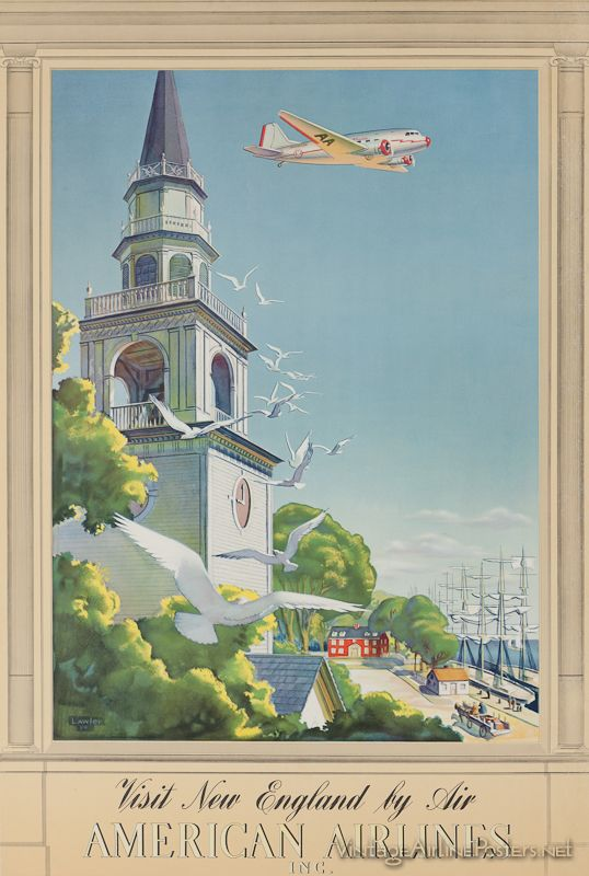 The Simmonds Collection - Vintage Airline Posters