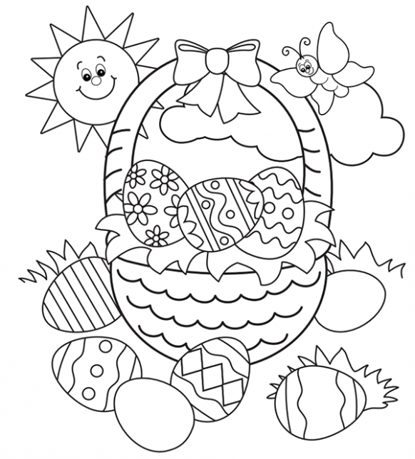20 Printable Easter Themed Coloring Pages For Kids Easter Coloring Pages Easter Coloring Sheets Easter Coloring Pages Printable
