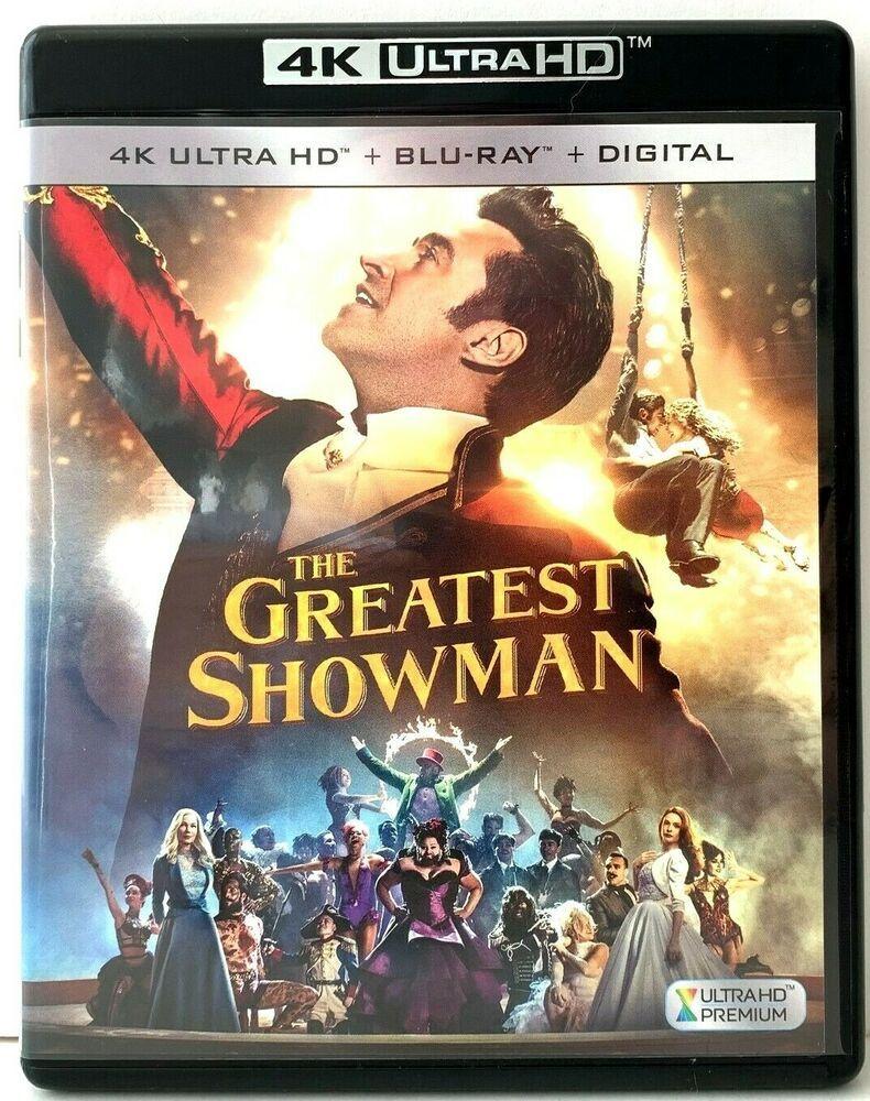 The Greatest Showman 4k Uhd Ultra High Definition Blu Ray Bluray Ebay In 2020 The Greatest Showman Greatful Blu Ray