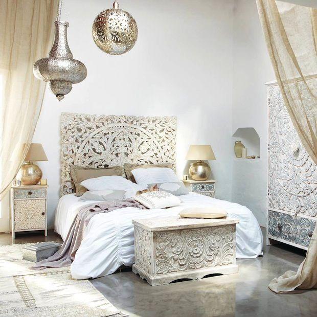 Boho-bedroom-boho-room decor-bedroom-ideas-interior-design-trends-2017-home-decor-trends-2017