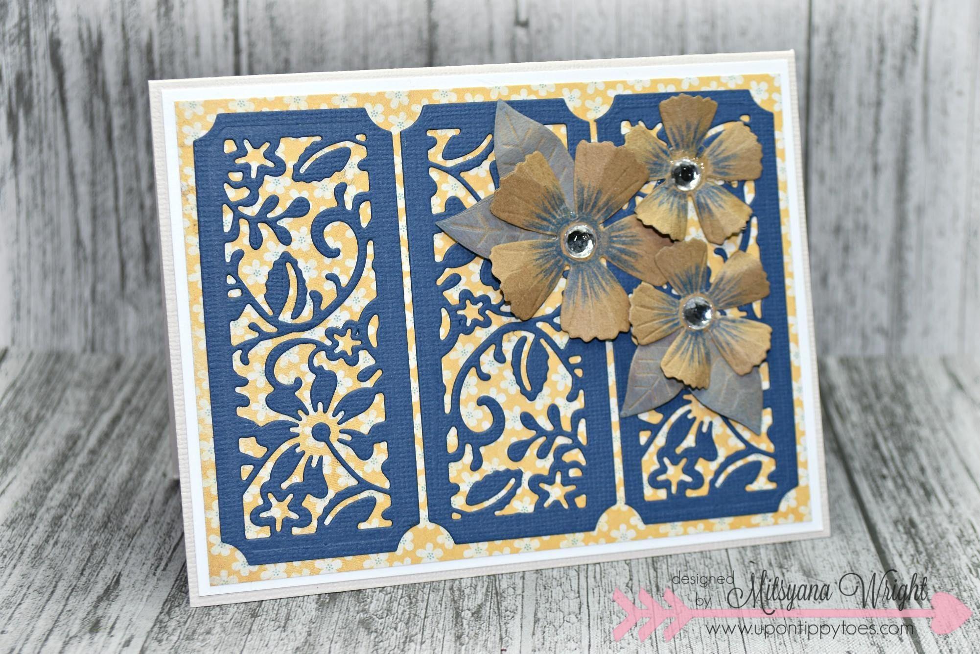 Diamond Press Nestable Patterned Background Die Kit Diamond Press 3d Flowers Cards Handmade Diamond Homemade Cards