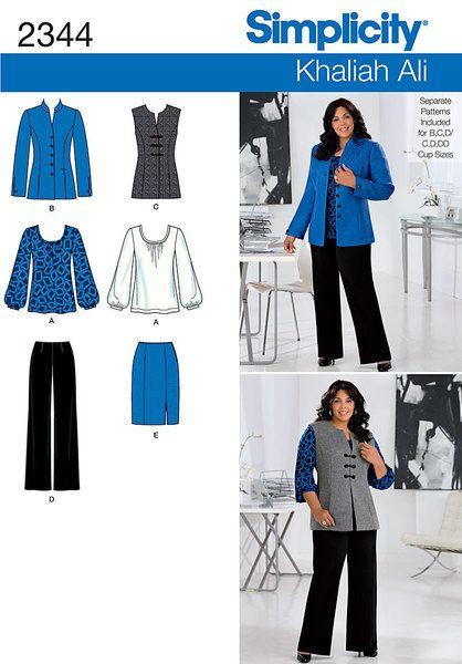Out of Print Misses\' & Plus Size Khaliah Ali Collection pants, skirt ...
