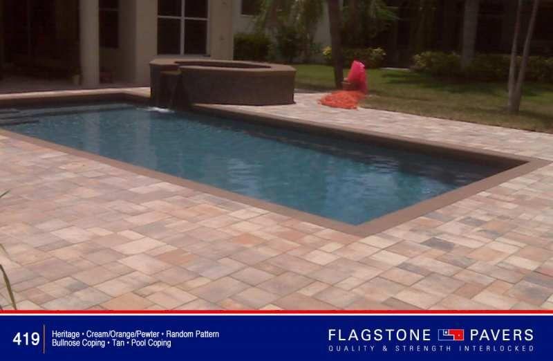 paver photo | backyard | pinterest | pool pavers, flagstone and