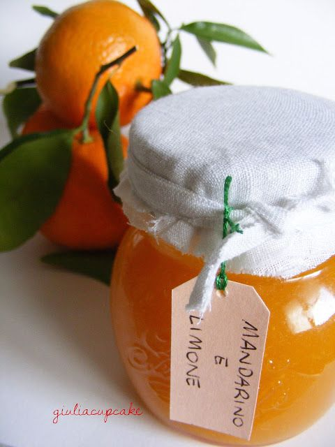 Jam with tangerine and lemon