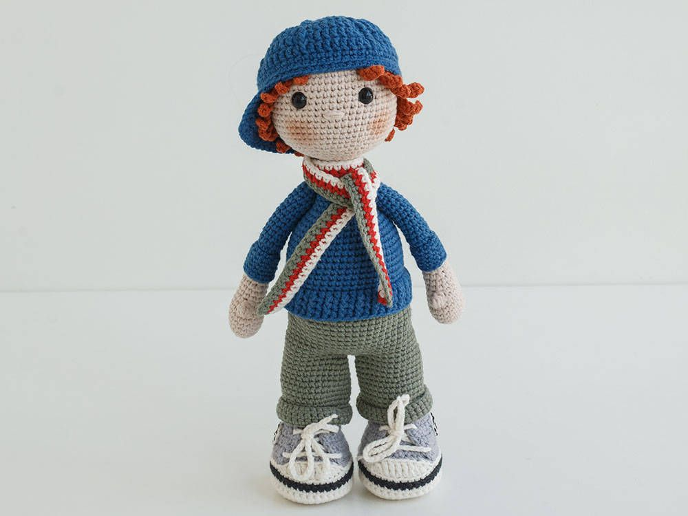 Amigurumi Doll Gratuit : Free shipping crochet doll dylan amigurumi doll stuffed doll