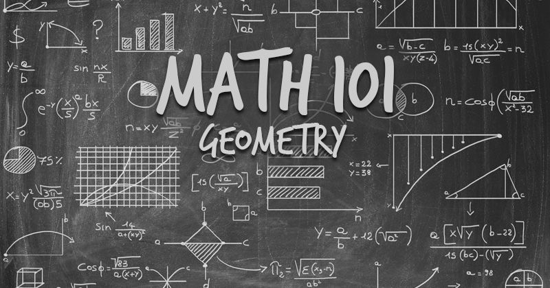 Do you remember that geometry class? See if you can still