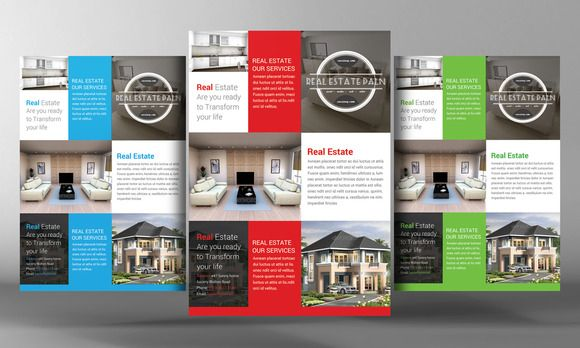 Check out Real Estate Flyer Template by Business Templates on - Gym Brochure Templates