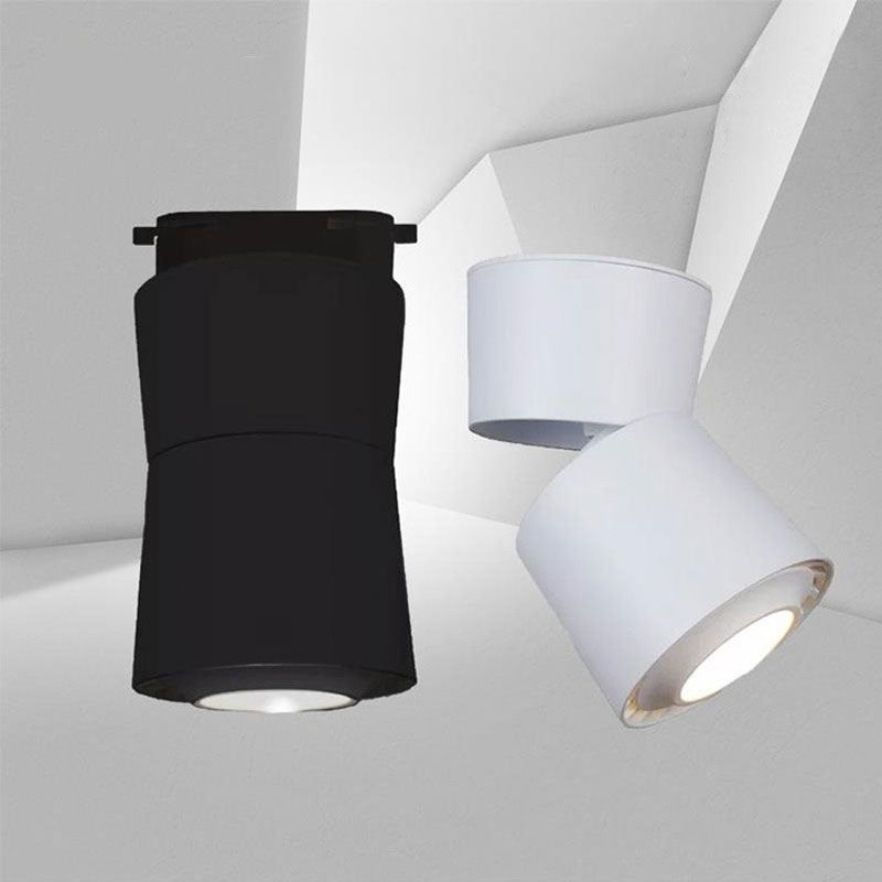 Modern Led Spotlight Exposed Ceiling Cob Light Background Wall Lighting Single Light Wall Lights Led Spotlight Lights Background Led spot light fixture