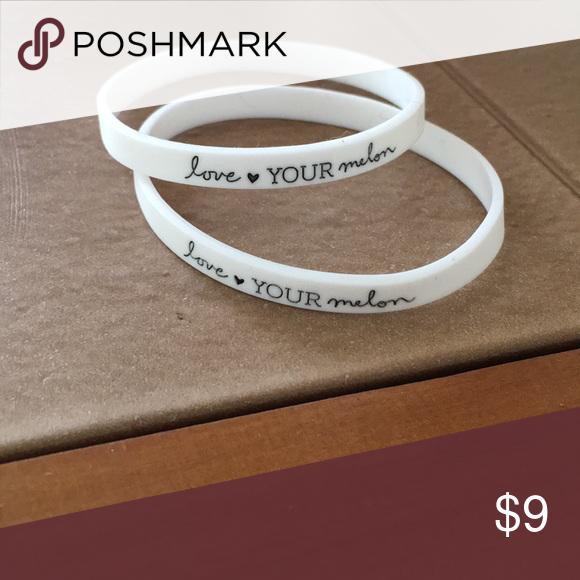 💓Two Love Your Melon bracelets Listing includes both bracelets. Never  worn. 💖 Love b02528974