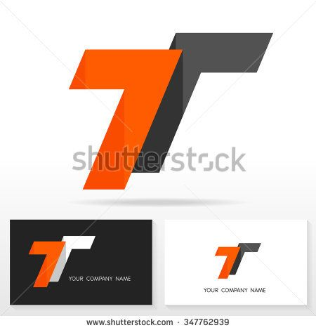 Letter T Logo Design  Vector Sign Business Card Templates