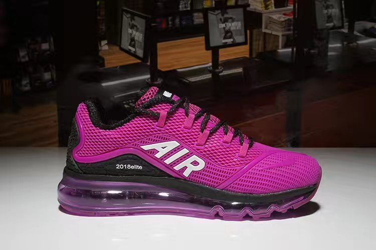 New Coming Purple Black Nike Air Max 2018 Elite KPU Women