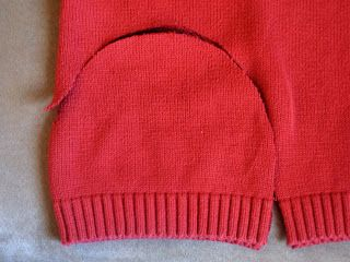 Someone posted about making old sweaters into hats and mittens and donating them to needy children - how cool of an idea is that!