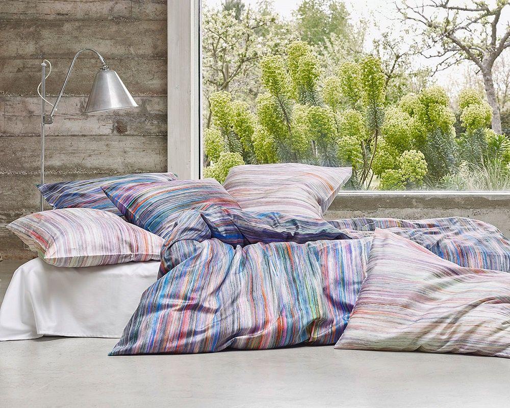 Schlossberg Bettwasche Ayano Bleu Bed Linen Bedding Color