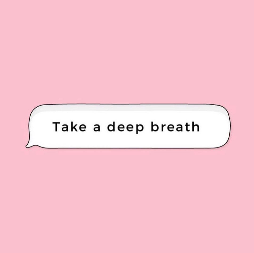 "modelFIT on Instagram: ""Quarantine Day 328904 Reminder�#inhale #exhale"""